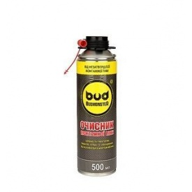 Очищувач монтажної піни Budmonster 500 мл