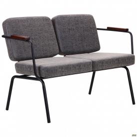 Крісло U2 чорний / бетон