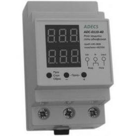 Реле контроля напряжения и тока Adecs ADC-0110-40
