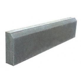 Поребрик утолщенный 1000х200х80 мм серый