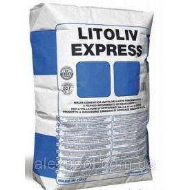Litokol LITOLIV EXPRESS 20 кг - Самовыравнивающий состав от 3 до 40 мм Для внутренних работ( LEX0020 )