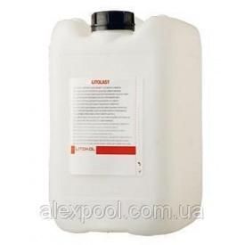 Litokol LITOLAST 5 кг Силоксановая водовідштовхувальне просочення для захисту фасадів LTL 0005