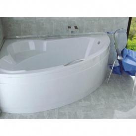 Ванна акриловая besco ADA 160х100 левая без панели и ножек с отверстиями под ручки