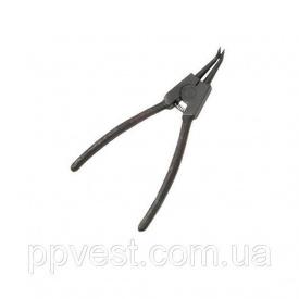Щипцы для снятия и установки стопорных колец изогнутые на разжим INTERTOOL HT-7008