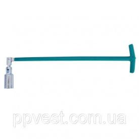 Свечной ключ Т-образный с шарниром INTERTOOL HT-1723