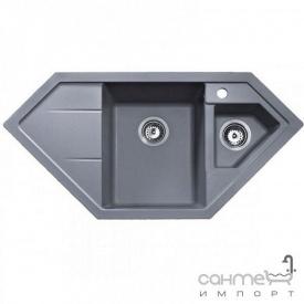 Кухонная мойка Teka Astral 80 Е-TG 88935 серый металик