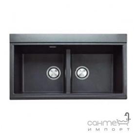 Кухонна мийка гранітна Adamant Similar 850х510х230 03 чорний