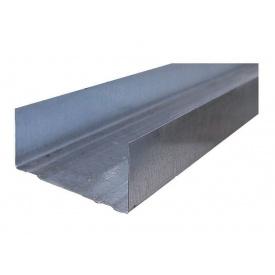 Профиль для гипсокартона UW 100/4 м 0,55мм