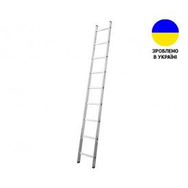 Односекционные лестницы Алюминиевая односекционная лестница 9 ступеней UNOMAX VIRASTAR