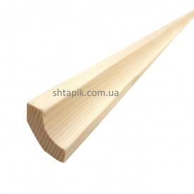 Кут внутрішній дерев'яний 25х25х3000 мм