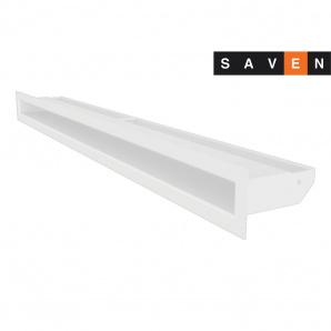 Вентиляционная решетка для камина SAVEN Loft 60х800 белая