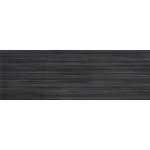 Керамогранитная плитка настенная Cersanit Odri Black 200х600х9 мм