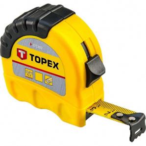 Рулетка Topex стальная лента 5мx19мм (27C305)