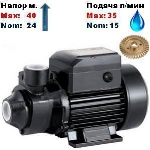 Насос вихровий QB-60SPRUT 24/40 м 15-35 л/хв