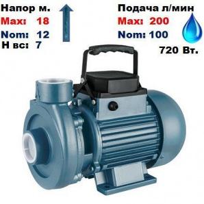 Насос відцентровий CDK18 POLIV Насоси+ 18/7 м 140-200 л/хв 220 В 720 Вт
