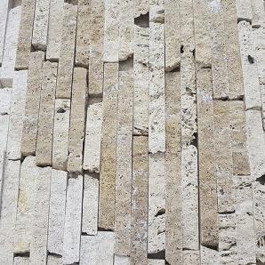 Облицювальний камінь травертин локшина 1х2х12