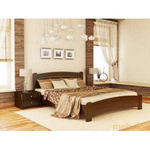 Ліжко Венеція люкс 120х190 з бука щита
