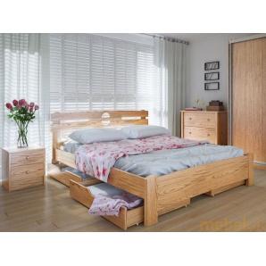 Ліжко Кантрі 180х200 ясен