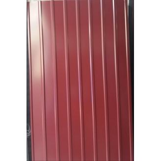 Профнастил кровельный ПК-9 2000х950х0.3 мм вишневый глянец