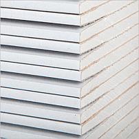 Гіпсокартон стіновий KNAUF 12,5 мм 2,5х1,2м