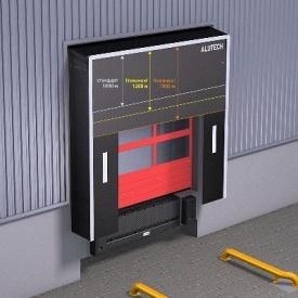 Герметизатор проема ALUTECH DSF 3400х3400 мм