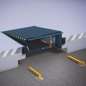Зрівняльні платформи з висувною апареллю ALUTECH TL 2500х2000 мм антрацитно-сірий