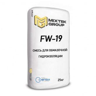 Суміш для виконання обмазувальної гідроізоляції FW-19 25 кг