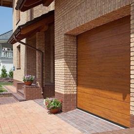 Автоматические гаражные секционные ворота ALUTECH Trend 3000×2375 мм