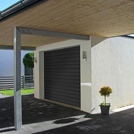 Автоматические гаражные секционные ворота ALUTECH Trend 2500×2250 мм