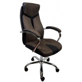 Кресло офисное компьютерное THOR BROWN OC206
