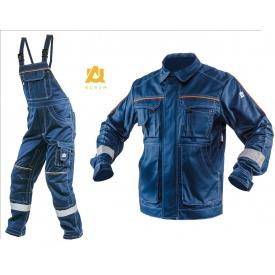 Костюм рабочий AURUM ANTISTAT BLUE куртка и полукомбинезон