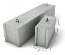 Блок фундаментный 2400х600х400