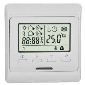 Программируемый термостат Е53 для теплого пола с датчиками