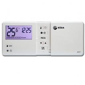 Термостат кімнатний недільне програмування (б/каб) RTF7