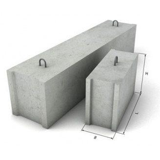 Блок фундаментний 2400х600х400