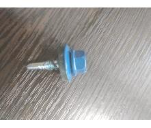 Саморез по металлу 4.8х19 мм синий