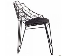 Металлический стул AMF Kiwi 720х700х590 мм черный