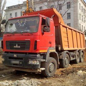 Аренда самосвала МАЗ 20-30 тонн 21 м3 8х4