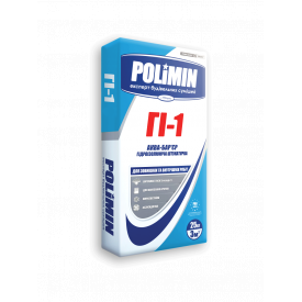 Штукатурка Полимин ГИ-1 Аква-Барьер 25кг