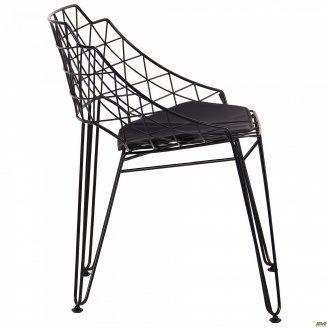 Металевий стілець AMF Kiwi 720х700х590 мм чорний