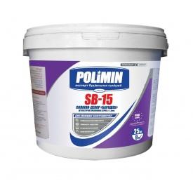 Декоративная силикон-модифицированная структурная штукатурка POLIMIN SB-15 по 25 кг База A