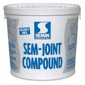 Шпаклевка готовая SEM-JOINT COMPOUND ТМ SEMIN 25 кг