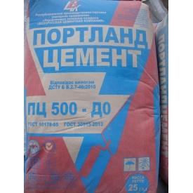 Цемент портландцемент ПЦ I -500 D 0 25 кг