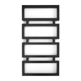 Дизайнерський водяною полотенцесушитель Genesis-Aqua Quattro 100x53 см