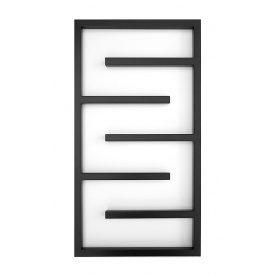 Дизайнерський водяною полотенцесушитель Genesis-Aqua Infinite 80x53 см