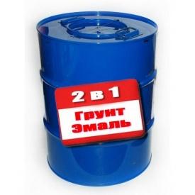Грунт-эмаль Gaia 2 в 1 антикоррозионная 50 кг