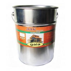 Лак Gaia ПФ-170 для дерева атмосферостойкий 40 кг