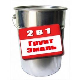 Грунт-эмаль Gaia 2 в 1 антикоррозионная 25 кг