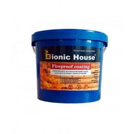 Огнебиозащитная краска Bionic-House FIREPROOF COATING 10 л