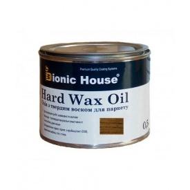 Масло с твердым воском Bionic-House для паркета Hard wax oil 0,5 л